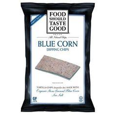 Food Should Taste Good Blucorn Tortilla Dip Chp (9x8oz )