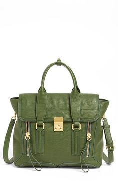 3.1 Phillip Lim Jade Leather Satchel