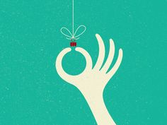 A holiday to/from illustration - #christmas #design #layout