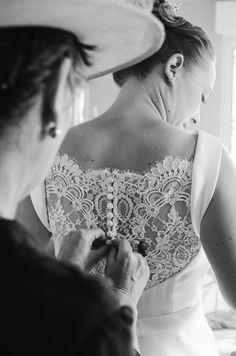 Wedding Dress, photography by Elodie H. Photography #wedding #dress #brideandmum #getready