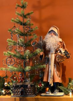 German style Santa made by Bobbie Taylor