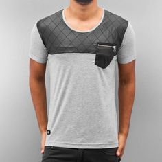 Red Bridge T-Shirt Nelio grey Cool T Shirts, Tee Shirts, Camisa Polo, Best Mens Fashion, Mens Clothing Styles, Tshirts Online, Fashion Details, Mens Tees, Shirt Outfit
