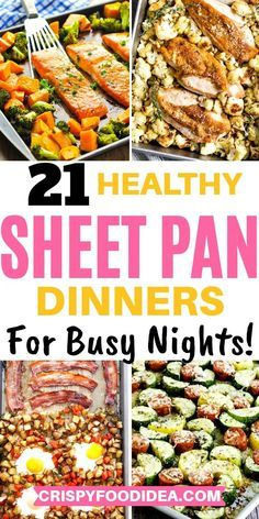 Easy Family Meals, One Pot Meals, Main Meals, Quick Meals, Entree Recipes, Dinner Recipes, Cooking Recipes, Meal Recipes, Sheet Pan Suppers