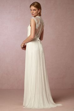 BHLDN Fantasia Gown in  Bride Wedding Dresses Lace at BHLDN