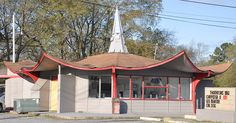 Former Hardee's, Columbus, Ohio (We had at least two Hardee's in Columbia SC that looked like this.) #ColumbiaSC