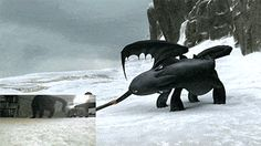Toothless's Movements Were Based On One Of The Artist's Cat