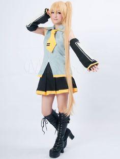 Vocaloid Neru Cosplay Costume