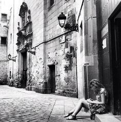 A Quiet Moment in Barcelona -- from my interview about mobile photography with Graham Smith