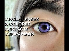 Cosplay Circle Lenses and Colored Contacts Comparison! Honey Color, Pinky Paridise, and Fresh Look! by Brian Greenleaf