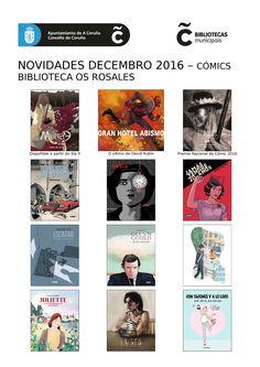 Últimas novidades de cómic, dispoñibles no mes de decembro na Biblioteca Os Rosales.