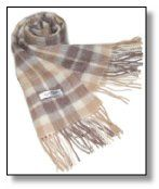 Cashmere scarves. Sweet.