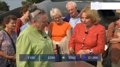 Current Red button quiz - Antique's roadshow, guess the item's worth.