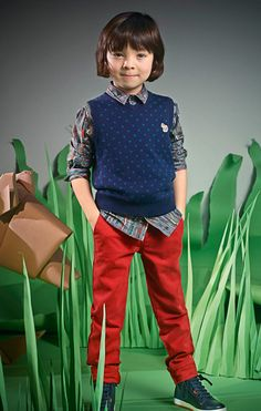 Paul Smith Junior Autumn/Winter 14 - Paul Smith Collections