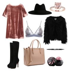 """""""Untitled #8"""" by leslu ❤ liked on Polyvore featuring Toast, Fleur of England, Yves Saint Laurent, Dry Lake and Charlotte Russe"""