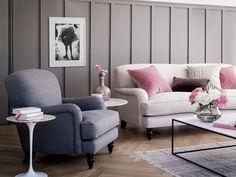get the look: the snowdrop chaise