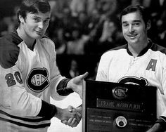 Frank and Pete Mahovlich | Montreal Canadiens | NHL | Hockey