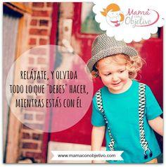 El estrés que podemos sentir como madres, no es ocasionado por nuestros hijos, sino por todos nuestros compromisos y tareas. Si disfrutamos el momento, seremos más felices. :-)
