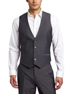 Amazon.com: Calvin Klein Sportswear Men's Stripe Dobby Vest Jacket: