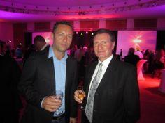 Avec le Président du PAU GOLF CLUB 1856 Mr Rossoni à la soirée des 35 ans du Groupe APR.