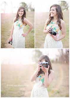 girl with camera | cary senior portrait photographer » Fine Art Senior Portrait and Wedding Photography | Raleigh North Carolina | Casey Rose Photography