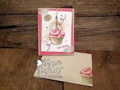 Stampin Up Sweet Cupcake