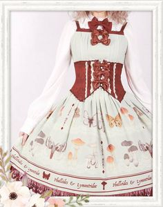 Reminder: [---Less than 2 days---] left to pre-order [---★~Phalloides & Lymantriidae~★ Series from Ista Mori---] >>> http://www.my-lolita-dress.com/newly-added-lolita-items-this-week/ista-mori-phalloides-lymantriidae-series