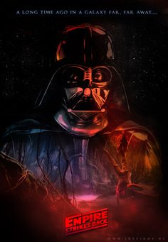 Star Wars Empire Strike Back Poster