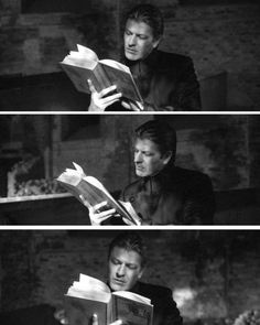 Tread softly because you tread on my dreams.  W.B. Yeats (1865–1939) Sean Bean in Equilibrium