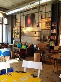 Ops Cafe in Karakoy - Istanbul