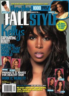 Magazine Fab: Kelly Rowland x Hype Hair Natural Curls, Natural Hair Styles, Halsey Singer, Black Hair Magazine, Hype Hair, Now Magazine, Pop Rock, Kelly Rowland, About Hair