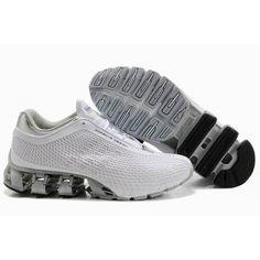 chaussure de course Adidas Porsche Design Sport Bounce S2 Homme - gris clair blanc pas cher site