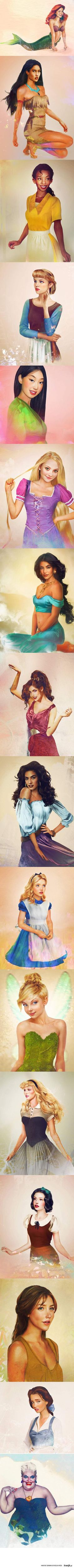 Real Disney Princesses.