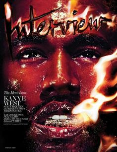 KANYE WEST COVERS INTERVIEW MAGAZINE FEBRUARY 2014