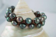 Tahitian Pearls come in a rainbow of colors.  WendyMignot.com #wendypearls