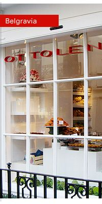 OTTOLENGHI, Belgravia, London | I dream of going to these food boutiques/restaurants/counters in London. The food looks SOOooo amazing.