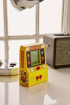 Slide View: 2: Handheld Pac-Man Arcade Game
