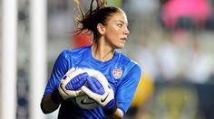 Hope Solo - Goalie for the Other 'Dream Team' - US Women's Soccer