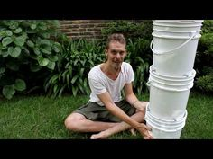 Compost Tumbler, Wind Spinners, Garden Pool, Botany, Pergola, Solar, Herbs, Exterior, Make It Yourself
