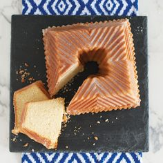 Lemon Bundt Squared Cake |Nordic Ware