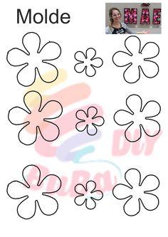 Segue o passo a passo e crie flores linda de papel, usei papel color set nas cores rosa, vermelha e marrom. Simples e fácil de fazer. #diy #flower #moldedeflores #moldeflor #flordepapel #flores #flor