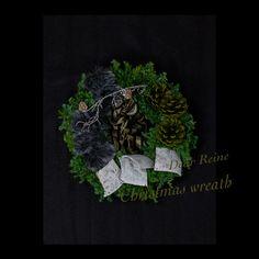 デザイン - 華造師 いしいあみ #Christmas wreath #Christmas #wreath #JFLA #ディアレイヌ #クリスマス #クリスマスリース #リース