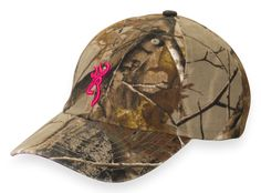 Browning 3D Buckmark-Women's - Realtree Xtra MSRP $18