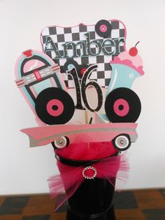Hey, I found this really awesome Etsy listing at http://www.etsy.com/listing/112777154/sweet-sixteen-fifties-party-centerpieces