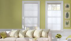 white honeycomb blinds - Google Search