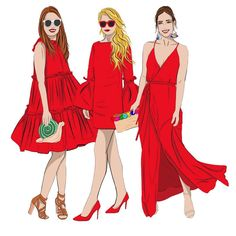 When in doubt wear RED Red Ootd, Wear Red, Ootd Fashion, Princess Zelda, Illustration, How To Wear, Instagram, Style, Swag