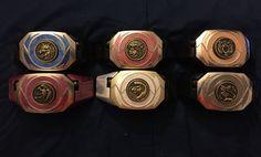 Mighty Morphin Power Rangers Ninjetti Morphers by MycieRobert.deviantart.com on @DeviantArt