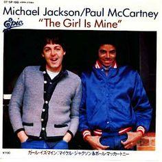1982.11.29  ガール・イズ・マイン 雨の中のダンス (with マイケル・ジャクソン)  32ndシングル  ◆ポール・マッカートニー : 懐かしいアナログ盤♪
