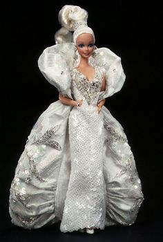 Bob Mackie Platinum Barbie® Doll - I own this doll. Love Bob Mackie's Barbie designs. They are some of my all time favorite Barbies. My very first Bob Mackie Barbie.