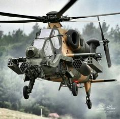 Turkish Attack Helicopter