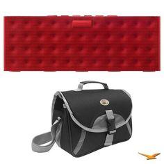 Jawbone BIG JAMBOX Wireless Bluetooth Speaker - Red Dot - Retail Packaging Bonus Bundle With Custom Carry Bag by Jawbone. $299.00. Includes: Jambox Big Red Dot Wireless Bluetooth Speaker Compact Deluxe Gadget Bag - CA58A